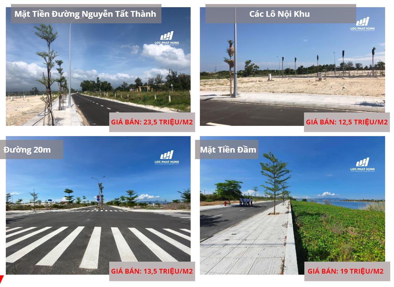 Giá bán đất nền, nhà phố, biệt thự Cam Ranh City Gate