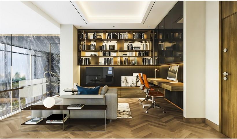 Thiết kế căn hộ Duplex River Panorama Quận 7 chủ đầu tư An Gia