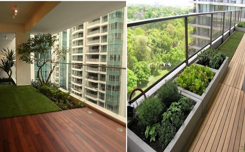 Ban công thiết kế bố trí được khu vực trồng cây xanh để gia tăng mảng xanh cho chính căn hộ.Ban công thiết kế bố trí được khu vực trồng cây xanh để gia tăng mảng xanh cho chính căn hộ.