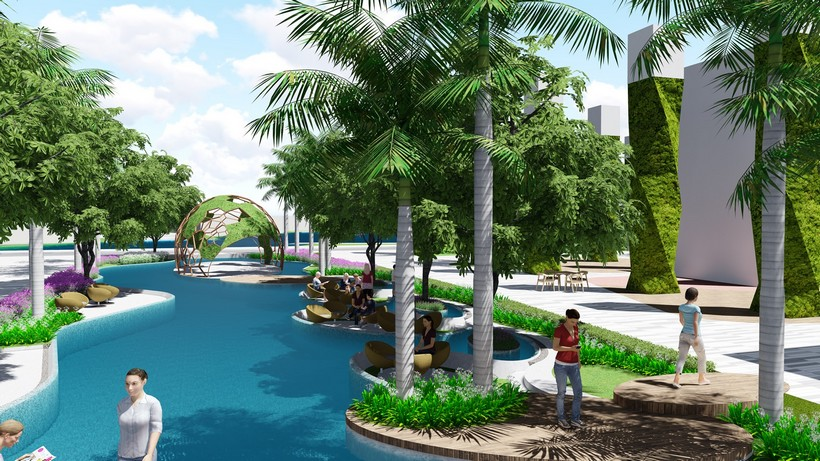 Tiện ích 15 dự án căn hộ chung cư River panorama quận 7 chủ đầu tư An Gia Investment Quận 7.