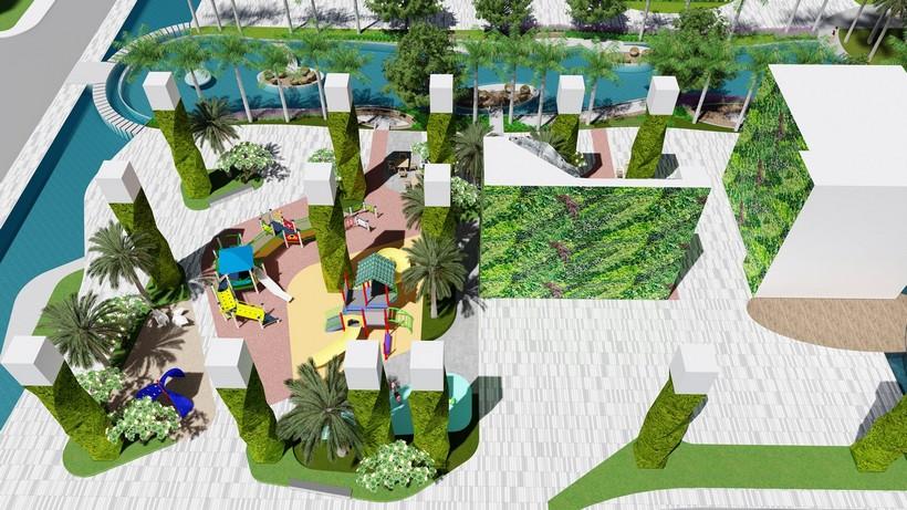Tiện ích 13 dự án căn hộ chung cư River panorama quận 7 chủ đầu tư An Gia Investment Quận 7.
