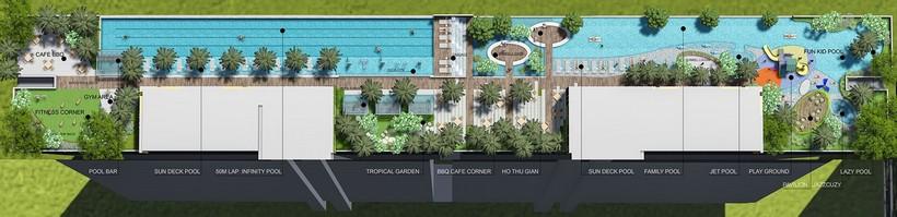 Tiện ích 10 dự án căn hộ chung cư River panorama quận 7 chủ đầu tư An Gia Investment Quận 7.