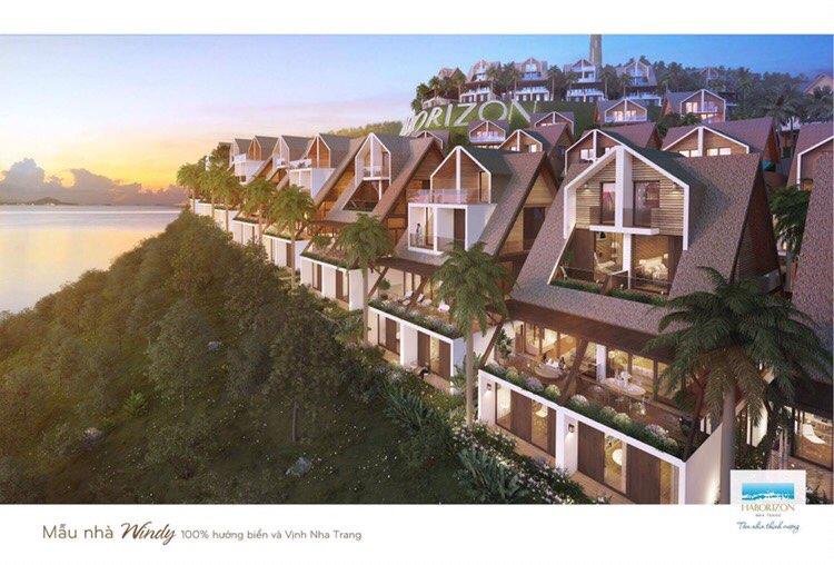 Mẫu thiết kế Windy dự án đất nền Haborizon Nha Trang Khánh Hòa