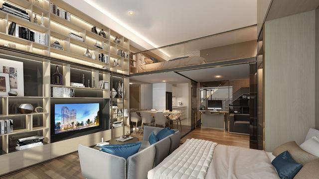 Lancaster Lincoln có thiết kế độ đáo, mang đến một không gian sống tiện nghi