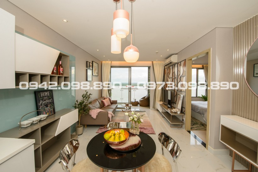 Phòng khách căn hộ An Gia Riverside Quận 7 cho thuê được đầu tư nội thất đầy đủ Hotline: 0942.098.890 - 0973.098.890