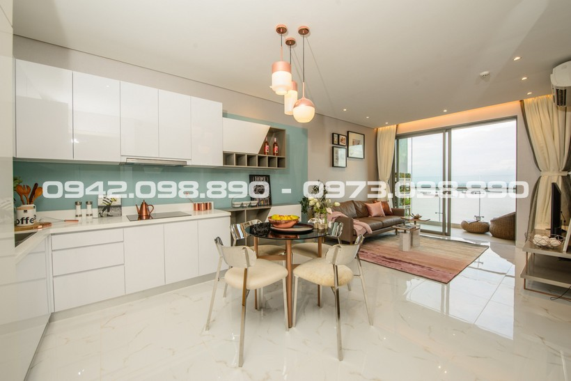 Căn hộ mẫu dự án căn hộ chung cư Saigon Intela Bình Chánh