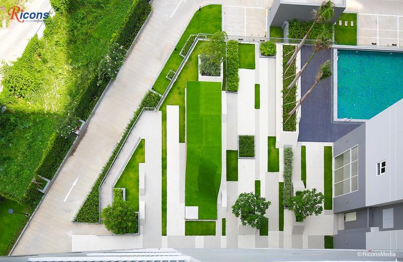 Công viên dự án căn hộ quận Bình Tân cho thuê An Gia Star