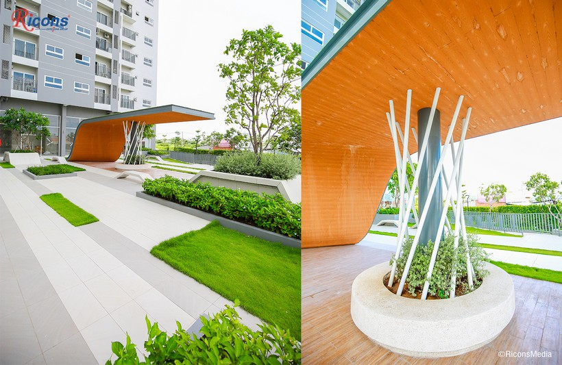 Khu công viên dự án căn hộ An Gia Star Quận Bình Tân