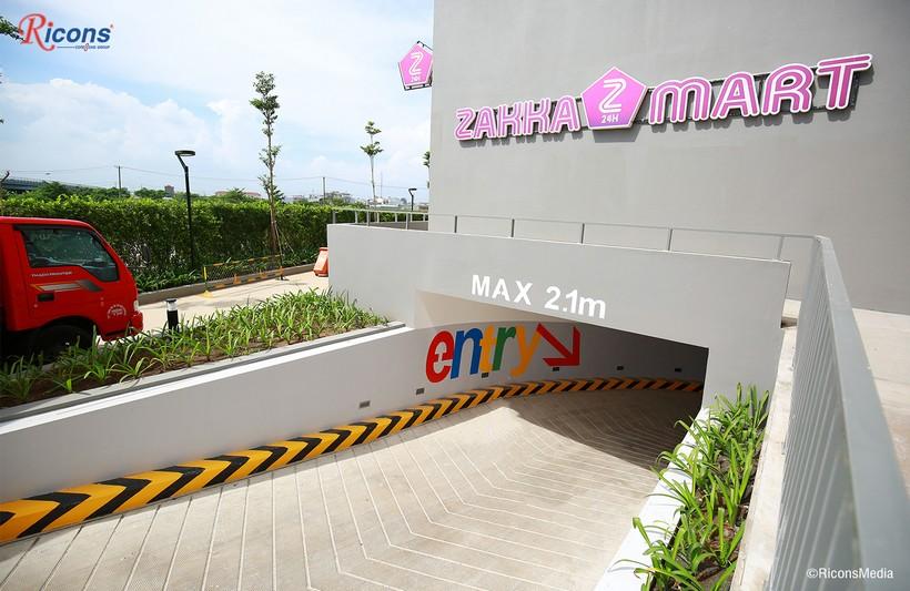 Lõi vào hầm giữ xe căn hộ An Gia Star Quận Bình Tân