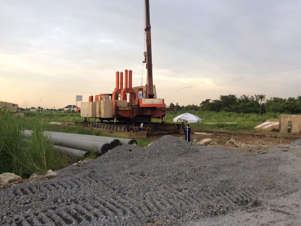 Tiến độ xây dựng dự án căn hộ chung chư SaiGon Intela Bình Chánh 08/2017 - Nhận mua bán ký gửi căn hộ Saigon Intela 0942.098.890