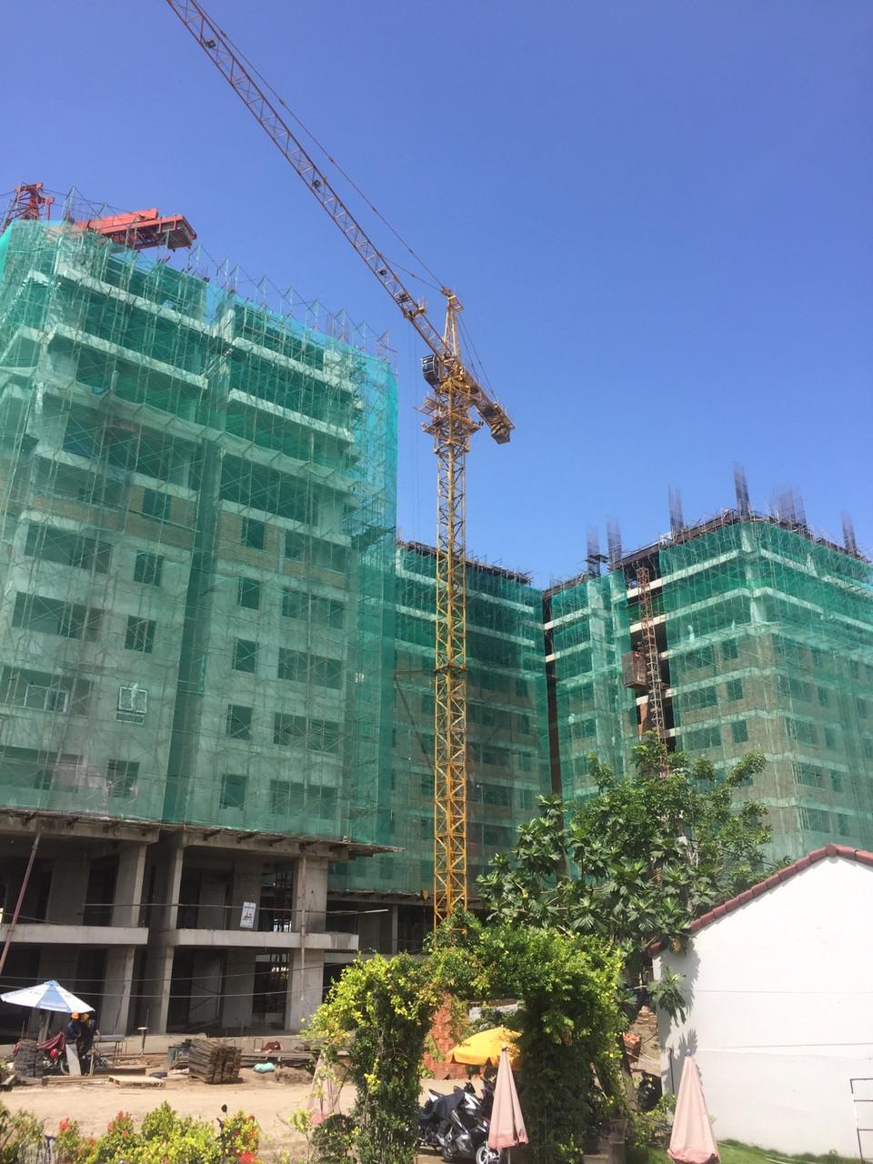 Tiến độ xây dựng dự án căn hộ chung cư Heaven City View Và Heaven River View Quận 8 Tháng 08/2017
