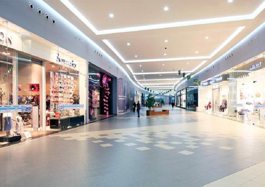 Trung tâm mua sắm tại căn hộ Riva Park Quận 4