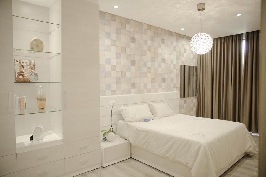 Phòng ngủ mẫu căn hộ Riva Park Quận 4