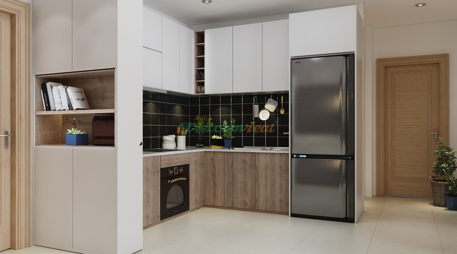 Phòng bếp mẫu căn hộ Riva Park Quận 4