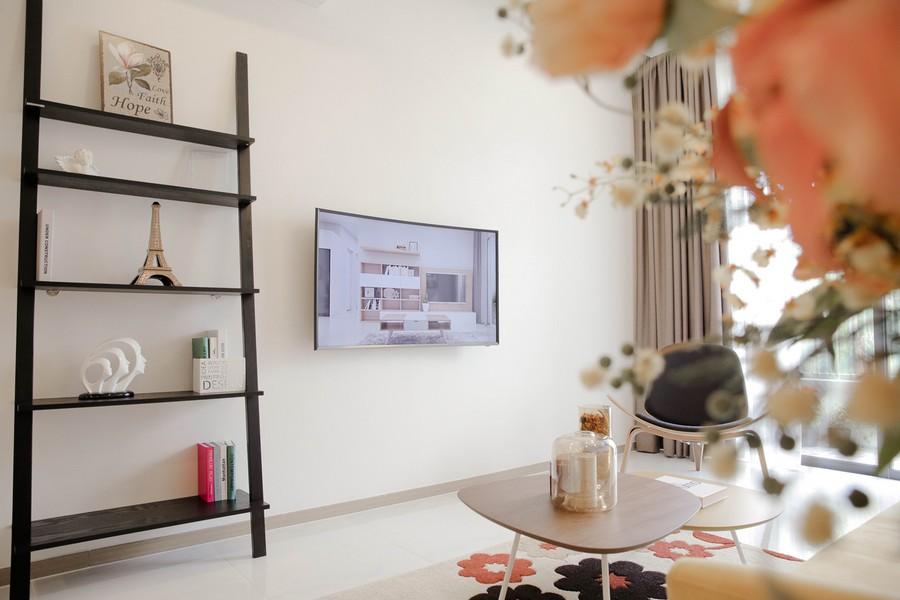 Phòng khách căn hộ Riva Park Quận 4