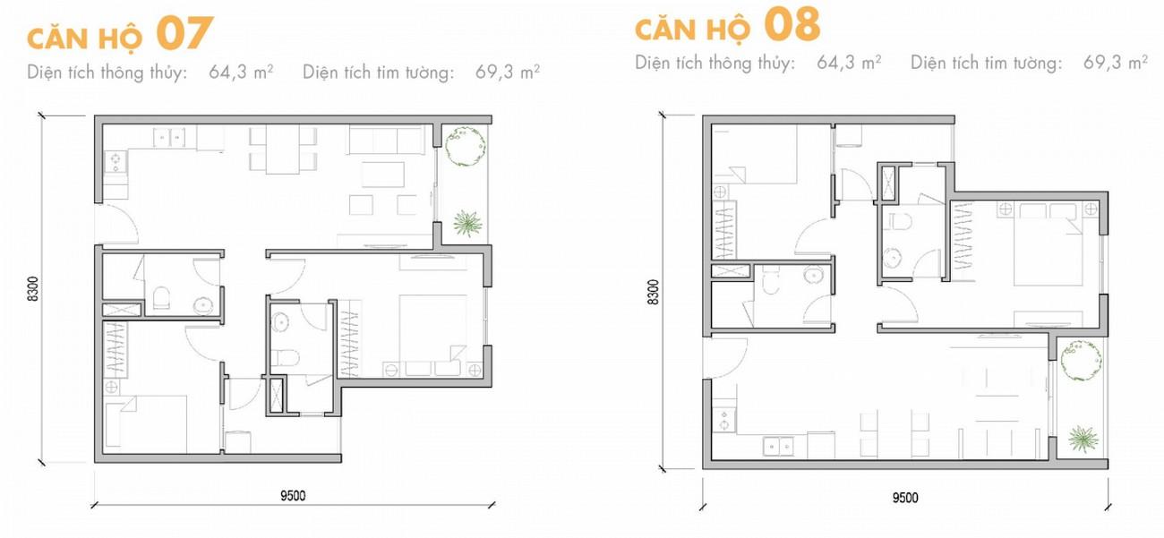 Thiết kế dự án căn hộ chung cư M One Gia Định Quận Gò Vấp Đường Nguyễn Bỉnh Khiêm chủ đầu tư Masterise Homes