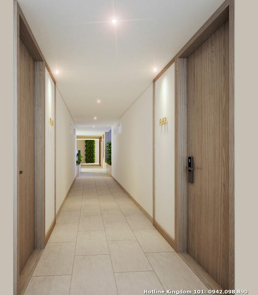 Hành lang dự án căn hộ chung cư Kingdom 101 Quận 10