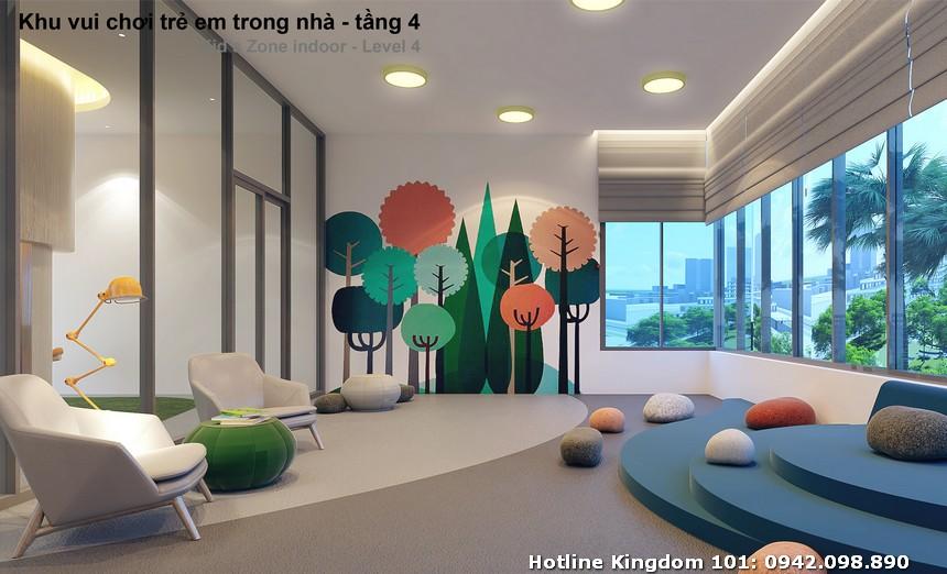 Khu vui chơi trẻ em dự án căn hộ chung cư Kingdom 101 Quận 10