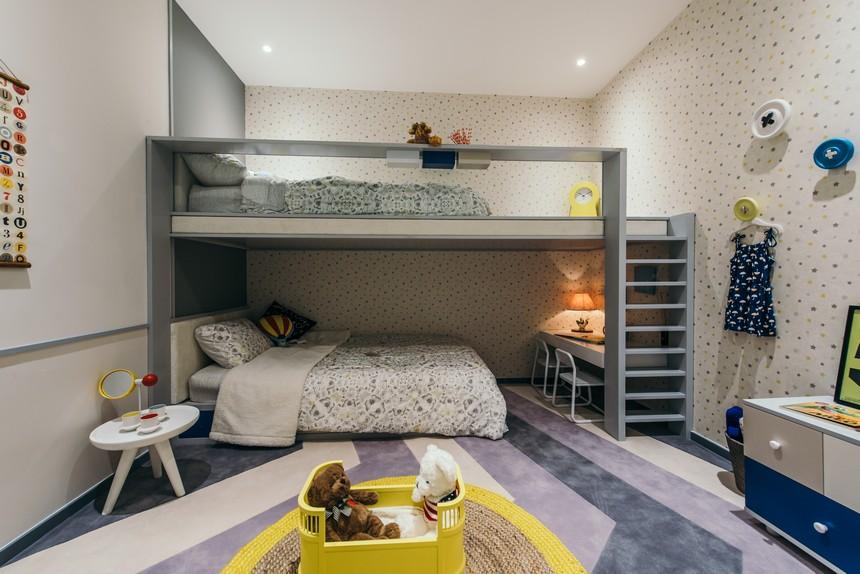 Nhà mẫu căn hộ chung cư Kingdom101 quận 10 Tô Hiến Thành được bán diện tích 60.83m2 1 phòng ngủ-1WC, view mặt tiền Thành Thái, quận 1 và công viên Thỏ Trắng.