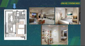Bán căn hộ KingDom 101 1 phòng ngủ giá tốt nhất Quận 10 LH 0942098890