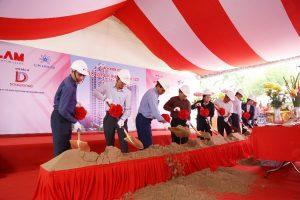 Tiến độ xây dựng dự án căn hộ Kingdom 101 Tô Hiến Thành tháng 10/2017