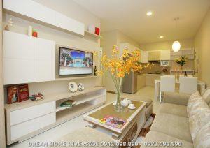 Nhà mẫu dự án căn hộ chung cư Dream Home Riverside Quận 8