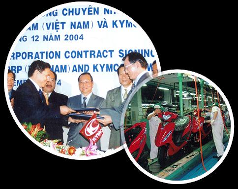 Hệ thống xe máy Kymco