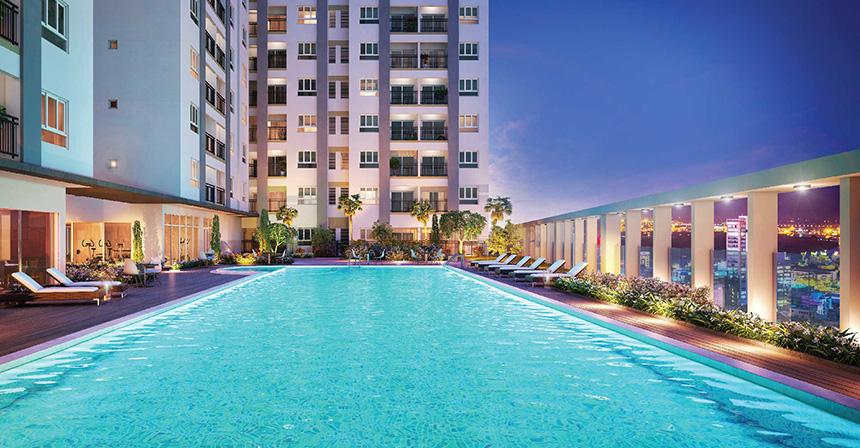 Phòng Spa dự án căn hộ Dream Home Riverside Quận 8 - Đăng ký nhận giá bán và xem nhà mẫu 0942.098.890 -0973.098.890