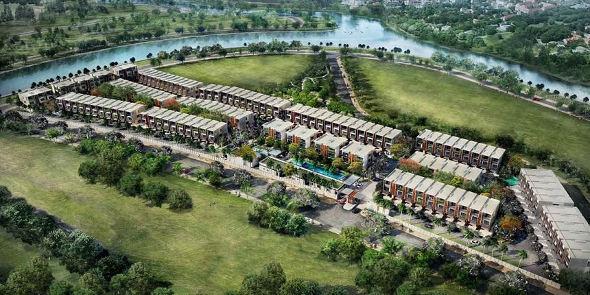 Sơ đồ phân lô diện tích dự án biệt thự Senturia An Phú Quận 2