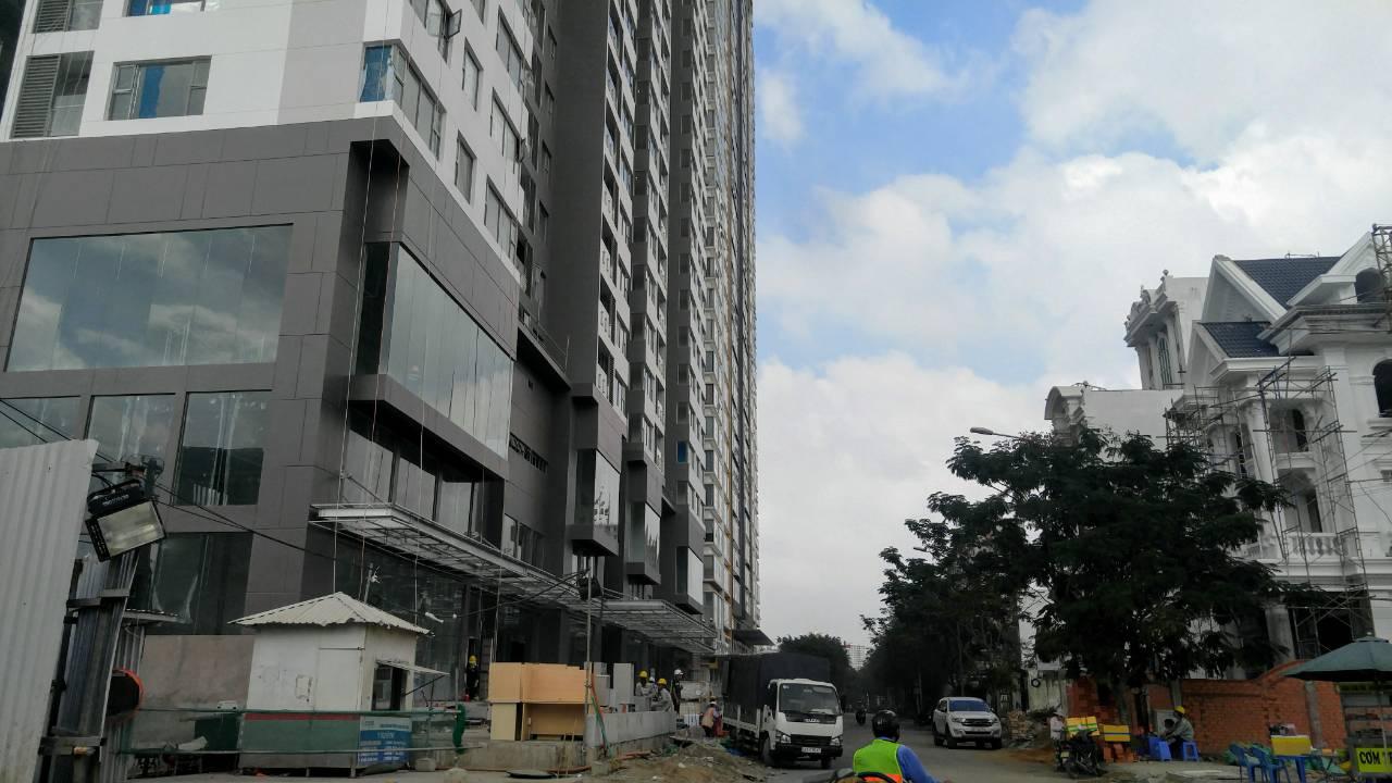 Tiến độ xây dựng An Gia Skyline tháng 11/2017 - Nhận mua bán , ký gửi, cho thuê An Gia Skyline 0942.098.890