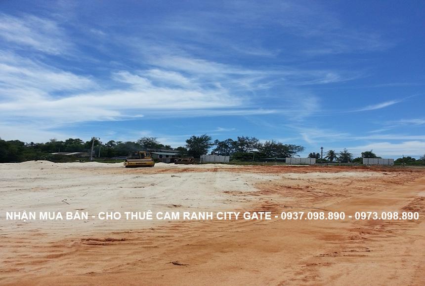 Hiện trạng tiến độ xây dựng dự án biệt thự biển Cam Ranh 11/2017