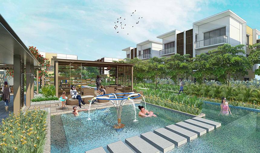 Hồ sục Jacuzi khu khu dự án biệt thự Senturia An Phú Quận 2 – Gọi 0942.098.890 Xem nhà mẫu + Nhận bảng giá