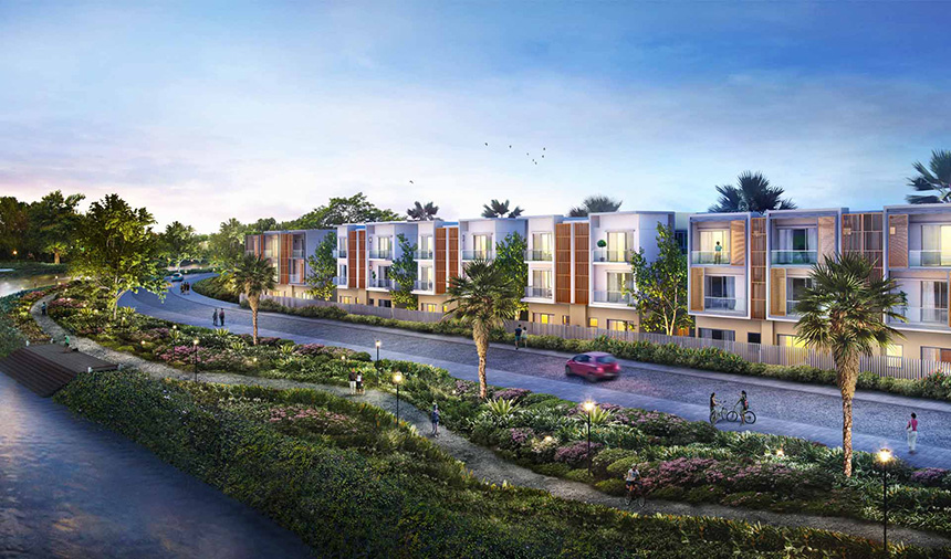 Công viên ven sông khu dự án biệt thự Senturia An Phú Quận 2 – Gọi 0942.098.890 Xem nhà mẫu + Nhận bảng giá