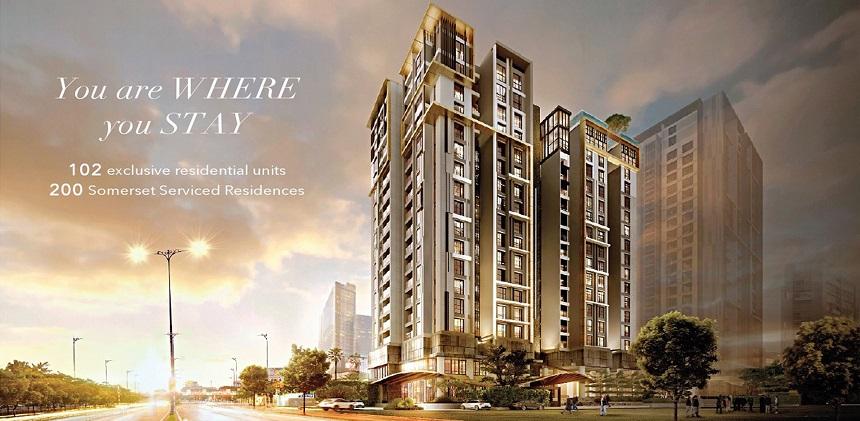 Dự án căn hộ D1 Mension Quận 1 chủ đầu tư Capitaland Quận 1