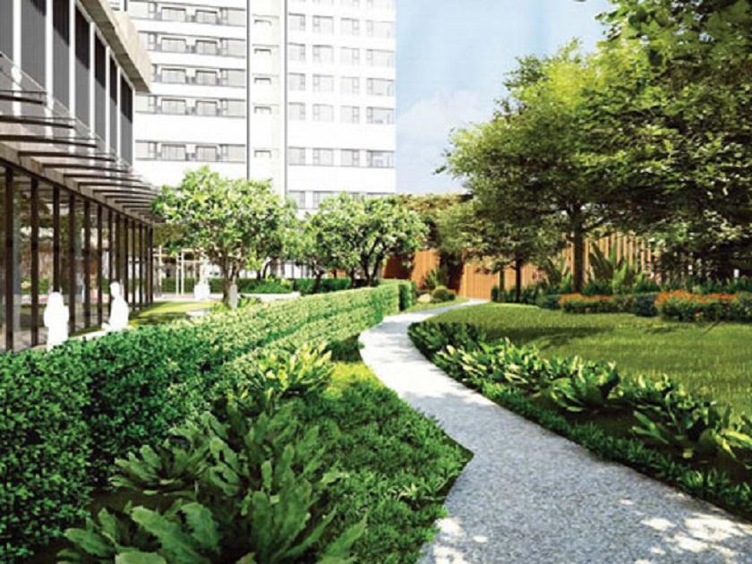 hình ảnh công viên căn hộ KingDom 101
