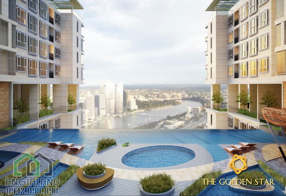 Tiện ích hồ bơi dự án The Golden star Quận 7