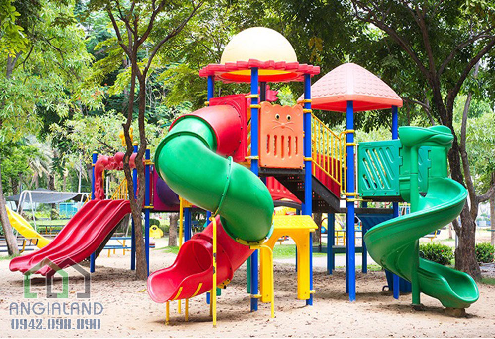 Khu vui chơi trẻ em của tiện ích dự án căn hộ The Sun Avenue Quận 2