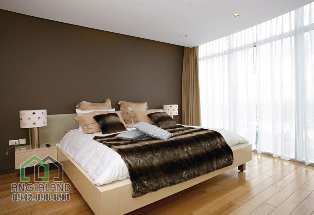 Phòng ngủ căn hộ Lancaster Lincoln Quận 4