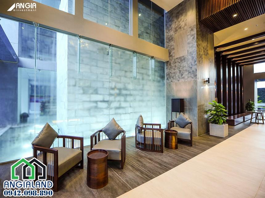 Sảnh chờ đón khách căn hộ An Gia Skyline Quận 7 cho thuê - Liên hệ 0942.098.890