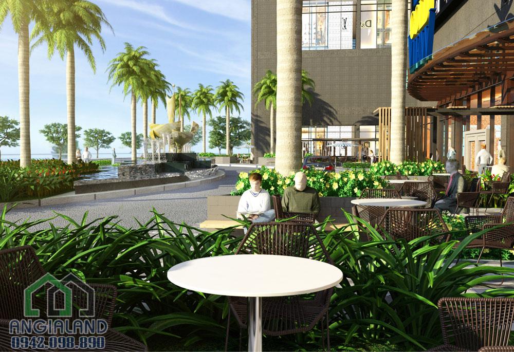 khu cafe căn hộ the Gold View Quận 4