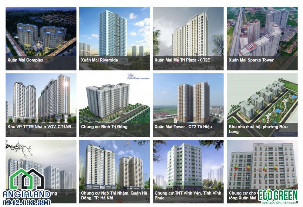 các dự án chủ đầu tư dự án căn hộ chung cư Eco Green Sài Gòn Quận 7