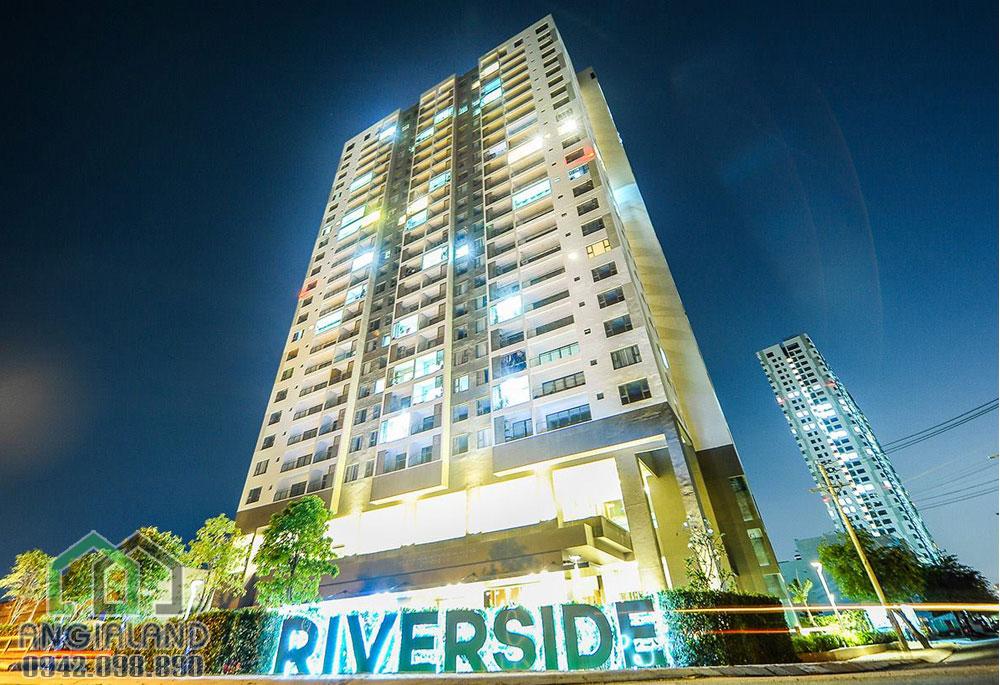 Cảnh quan dự án căn hộ Angia Riverside Quận 7