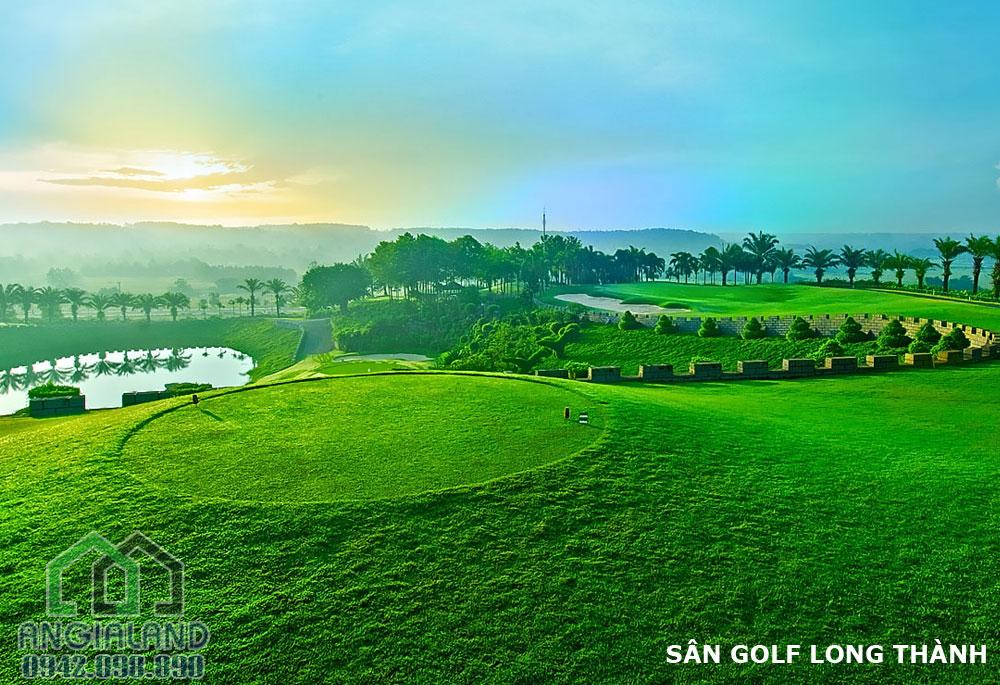 Tiện ích sân Golf Kn Paradise diện tích 90ha