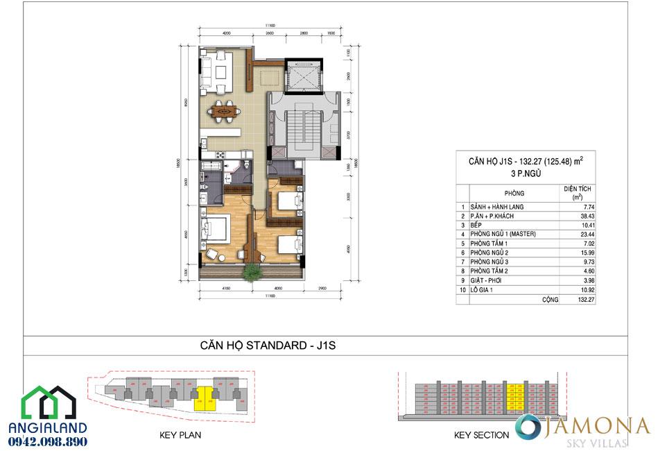 Bán dự án căn hộ Jamona Sky Villas trung tâm Quận 7 LH 0942098890