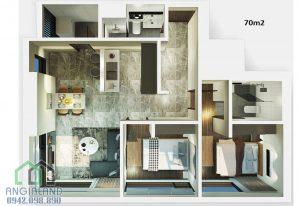 Bán căn hộ Kingdom 101 giá rẻ Mã căn A-03-01 Giá đợt 1 mở bán LH 0942098890