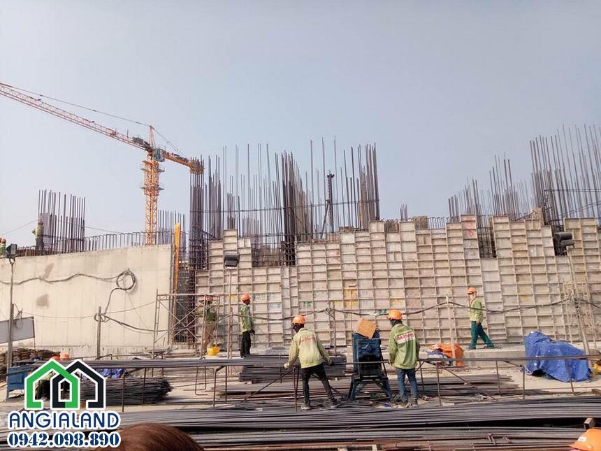 Hiện trạng xây dựng dự án Condotel The Arena Cam Ranh 28/03/2018 – Hỗ trợ xem thực tế tại Cam Ranh– Liên hệ 0942.098.890