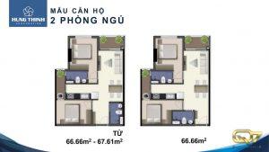 Bán căn hộ cao cấp Q7 Saigon Riverside Complex mã căn M2-12.06  mặt tiền đường Đào Trí