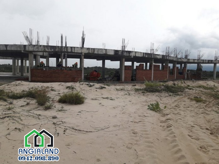 Tiến độ dự án Arena Cam Ranh 05/10/2017