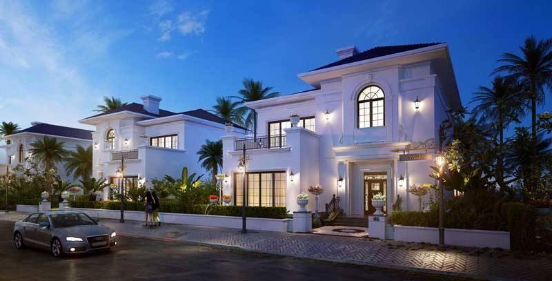 Biệt thự dự án kN Paradise Cam Ranh