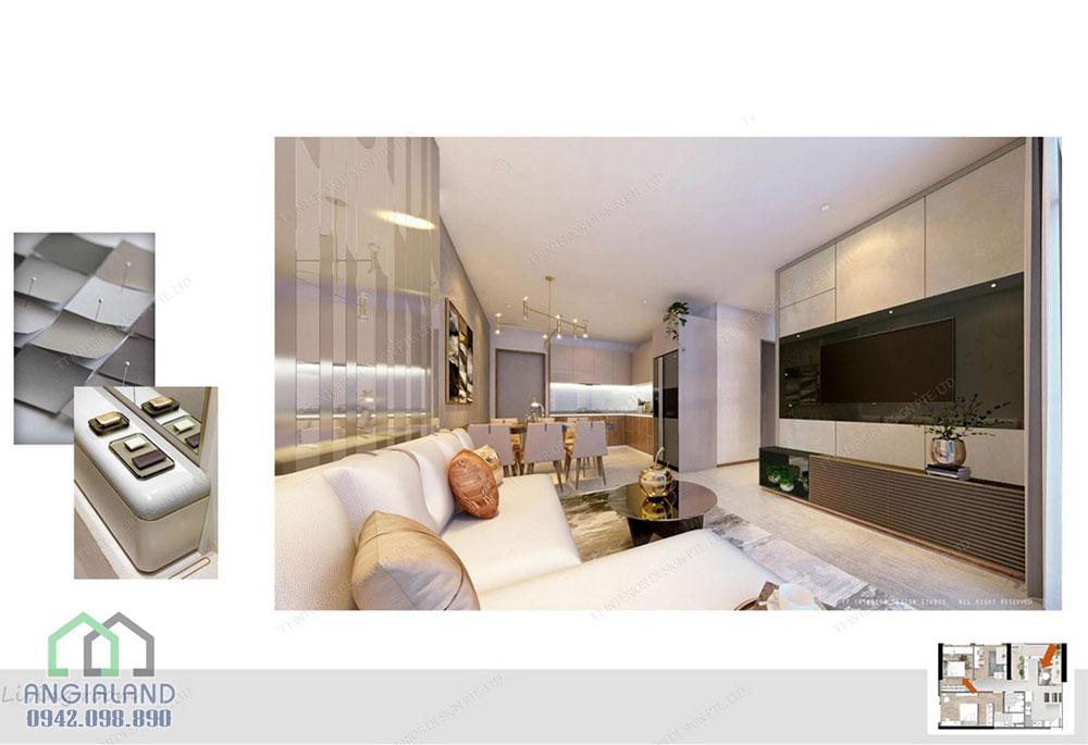 Nhà mẫu dự án căn hộ Charmington Iris Quận 4